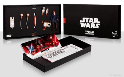 star wars special cinema box in esclusiva su amazon it