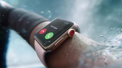 apple watch series 3 waterproof e lte